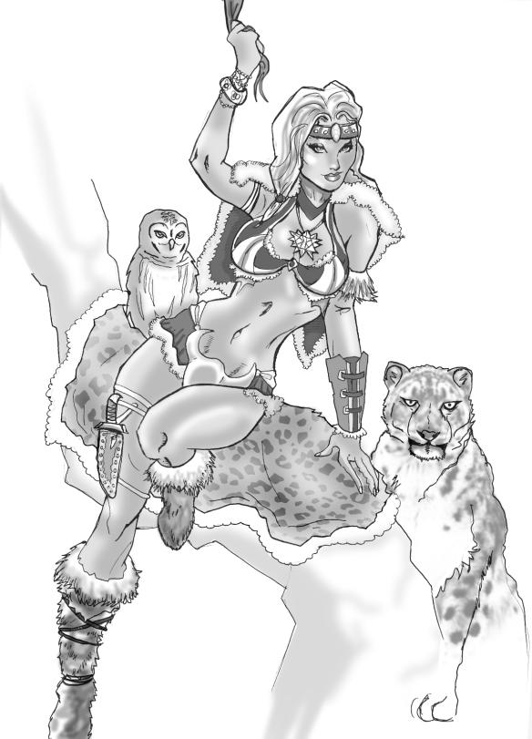 IceLeopard woman2